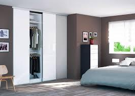 porte placard chambre porte placard coulissante 80x250 patcha