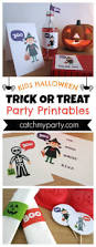 Kids Halloween Printables by 12 Awesome Kids U0027 Halloween Party Supplies Catch My Party
