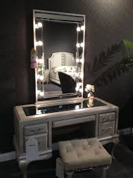 Bedroom Vanity Mirror With Lights Small Bedroom Vanity On A Budget With Use Vanity Table Also Stool