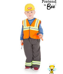 construction worker costume childrens construction worker costume for boys or builder