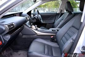 lexus lexus is300h 2014 lexus is300h front seats forcegt com