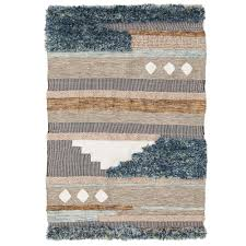 wool rug new mahieu flatweave cotton wool rug network rugs ebay