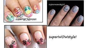 3 toothpick nail designs nail designs without tools nail