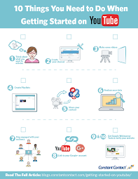 10 things you need to do when getting started on