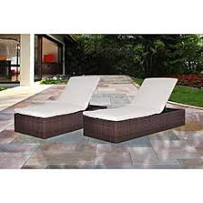 Poolside Chaise Lounge Chaise Lounge Chairs All Weather Wicker Sears