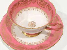 fine bone china shelley england rose red daisy 13425 flower trio 3