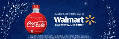 news coca cola orb bottles available at walmart only