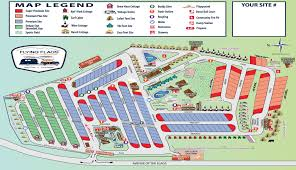 Site Map Flying Flags Rv Resort U0026 Campground Highway West Vacations
