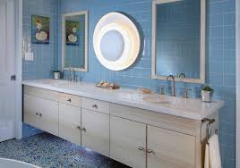 sea glass tile bathroom