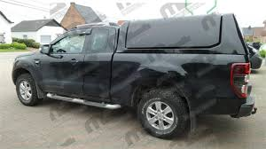 Ford Ranger Truckman Top - hard top gullwing painted ford ranger xc 2012