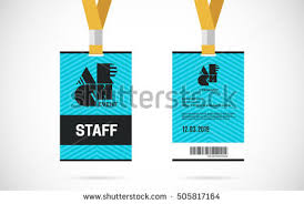 id card graphic design identification card templates download free vector art stock