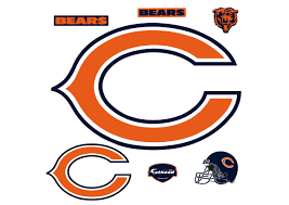 Chicago Bears Chicago Bears C Logo Wall Decal Shop Fathead For Chicago