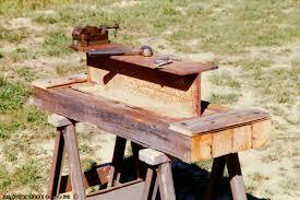 a good simple workbench for backyard blacksmiths welders
