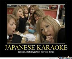 Asian Karaoke Meme - japanese karaoke by ben meme center