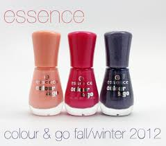 essence colour u0026 go nail polish for fall winter 2012 swatches