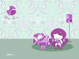 wallpaper hello kitty violet purple cute hello kitty wallpaper picture wallpaper collections