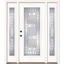 Home Depot Prehung Interior Doors Feather River Doors 63 5 In X81 625in Mission Pointe Zinc Full Lt