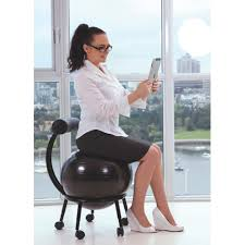 Yoga Ball As Desk Chair Gaiam Ball Chair Uses And Benefits