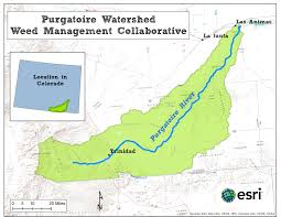 Dolores Colorado Map by Purgatoire Watershed Weed Management Collaborative Tamarisk