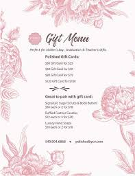 gift card specials gift card specials polished by v