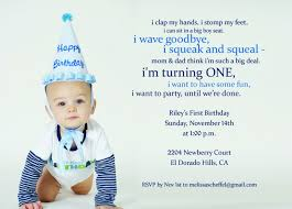 1st birthday invite templates free image collections invitation