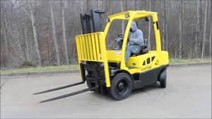 2010 hyster h50ft diesel forklift capacity 5000 lbs 1 youtube
