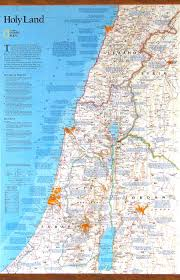 Mail Map Isreal Wall Map Overview