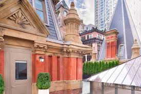 lexus hotel new york the beekman hotel unveils its 6 500 night turret penthouse suites
