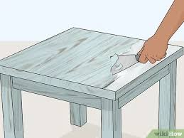 how to paint unfinished pine furniture how to paint pine with pictures wikihow