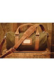 rugged leather waxed canvas duffle bag small gym bag for men ebay