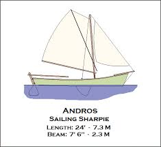 spira international inc andros sailing sharpie wooden boat plans