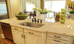 Kitchen Cabinets With Granite Countertops by Simple Cream Kitchen Cabinets With Granite Countertops Enchanting