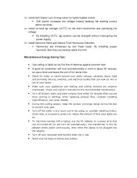 Job Experience On Resume by Pocket Book On Energy Efficiency In Elec Systems