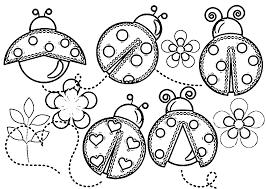 free coloring ladybug coloring