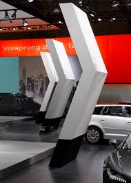 Exhibition Reception Desk Solid Surface Reception Desk Audi Exhibition Stand Hi Macs