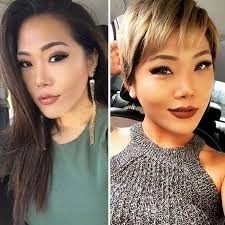 haircuts after donating hair share before after pics of your extreme haircut transformations