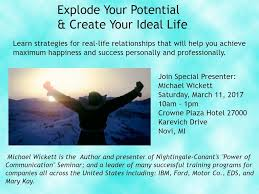 explode your potential u0026 create your ideal life crowne plaza