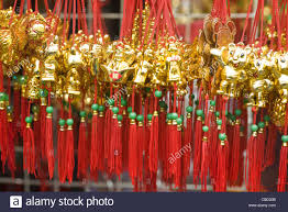 decorations for sale new year decorations for sale in market stock photo