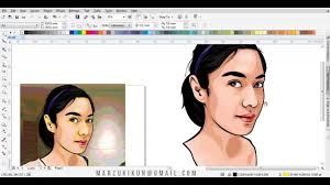 tutorial vector c how to draw vector cartoon in corel draw dian sastrowardoyo youtube