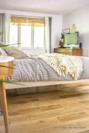 mid century modern bedroom furniture full size wooden platform bed