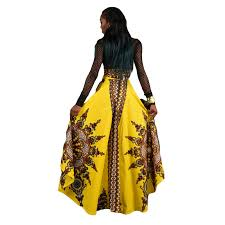 online shop newly fashion woman big swing skirts african national