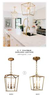 Mini Pendant Lights Over Kitchen Island by Best 25 Lantern Lighting Kitchen Ideas Only On Pinterest