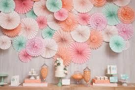 paper fan backdrop the sweetest occasion