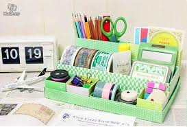 Diy Office Decorating Ideas Diy Green Paper Tray Desk Decor Diy Craft Pinterest Paper