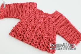 baby girl crochet crochet baby cardigan interunet
