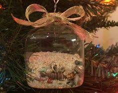 how to display seashell memories clear glass ornaments