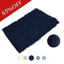 Soft Bathroom Rugs H Versailtex Fuzzy Soft Bath Mat Durable Non Slip