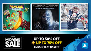 save up to 50 with ps store u0027s mid year sale u2013 playstation blog