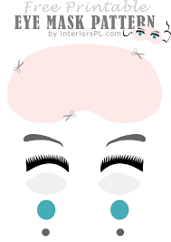 eye mask template best 25 eye masks ideas on masks skin mask and