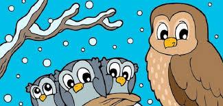 coloriage hiver 24 dessins à imprimer